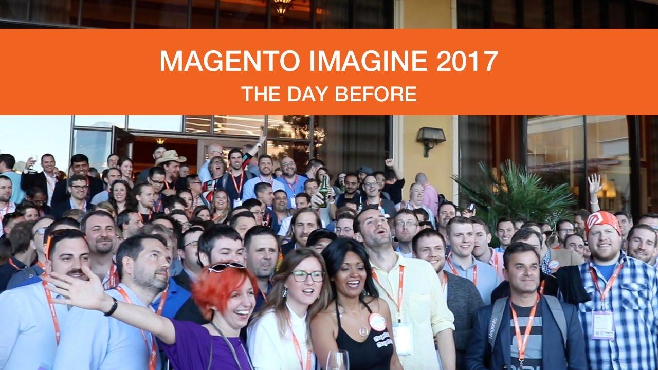 max_pronko: [New Video] 📽️📽️📽️ Magento Imagine 2017 - The Day Before https://t.co/netSZklTll #MagentoImagine https://t.co/V6AapQQfpQ