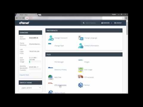 How to upload your websites to Cpanel account (2017 updated)