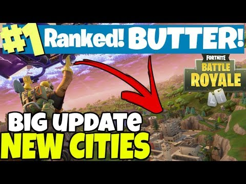 NEW CITY UPDATE! TIME TO EXPLORE !  / lvl 140+ / 209+ WINS /  FortNite Battle Royale