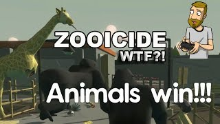 HILARIOUSLY ABSURD ANIMALS VS HUMANS GAME | ZOOICIDE