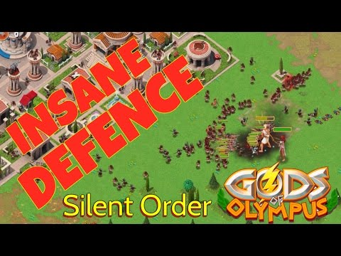 Gods of Olympus | Defence stratergy gameplay in GODS OF OLYMPUS | Silent Order | HD | Episode 5