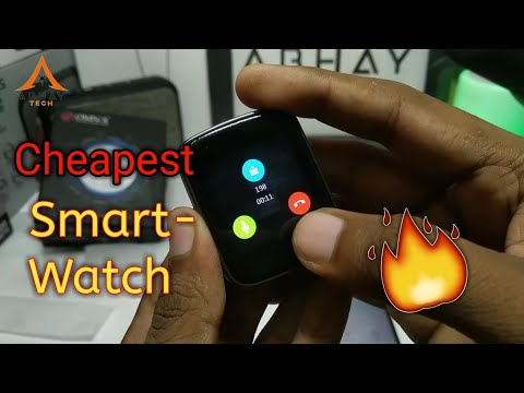 Cheapest Smart Watch With Calling Features | Gv68 Smartwatch 🔥🔥| Omnix Smart Band 2019