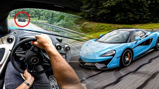 Driving my NEW McLaren Through Tail of The Dragon!