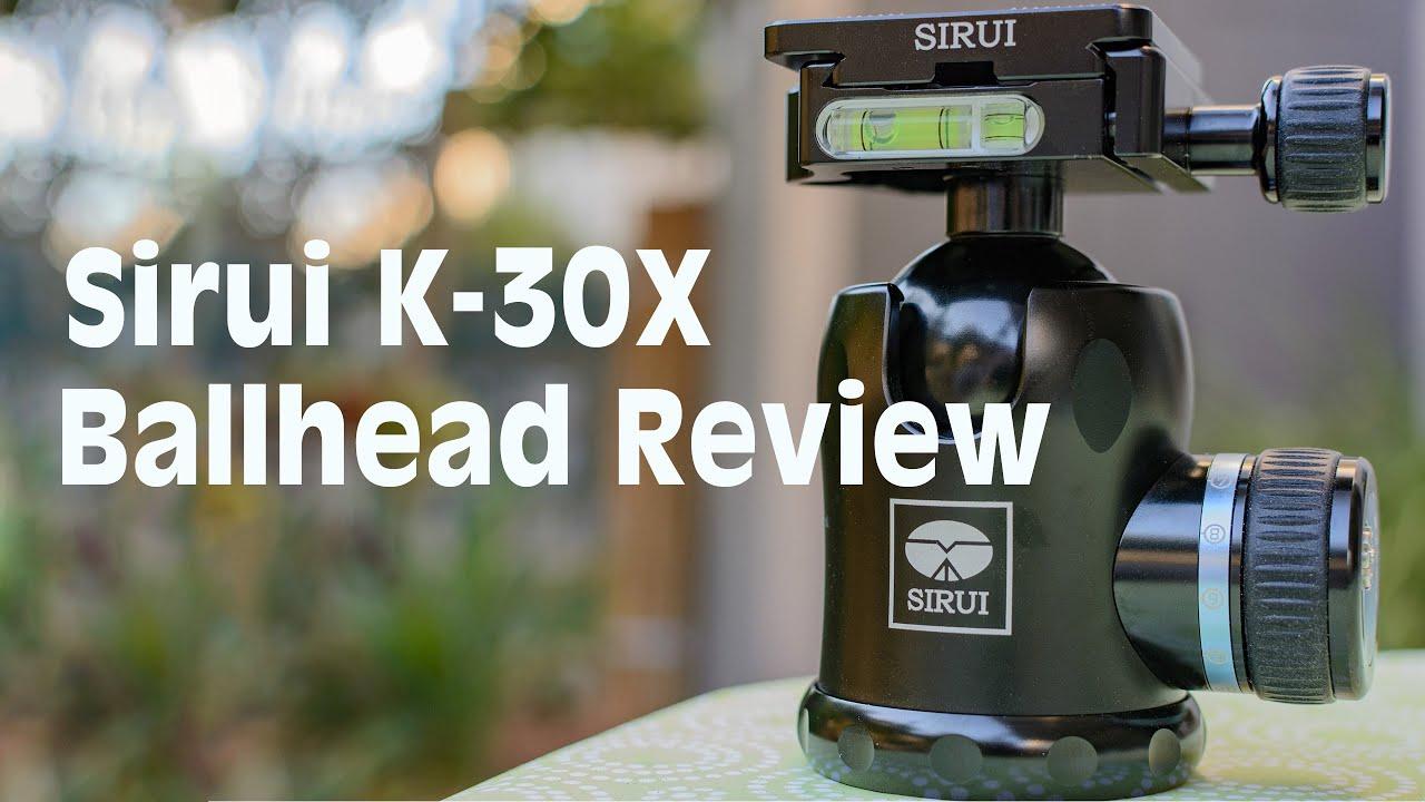 Sirui K 30x Ballhead Review Youtube