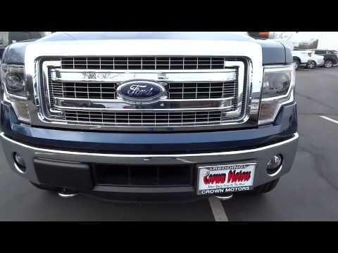 2014 ford f 150 redding eureka red bluff northern for Crown motors redding ford
