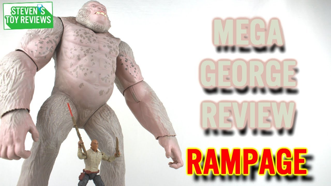 Rampage Mega George Action Figure Review Youtube