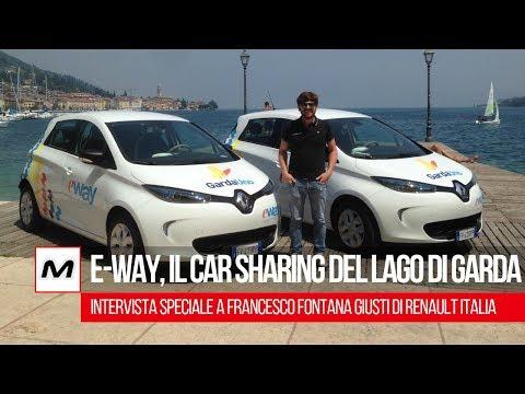 E-Way   Il car sharing arriva sul Lago di Garda