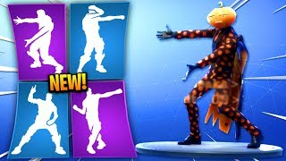 NEW Fortnite Season 6 Leaked Emotes COMING SOON! (Electro Swing, Headbanger, Sprinkler, Behold!)