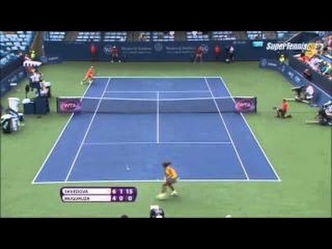 Garbine Muguruza vs Yaroslava Shvedova Highlights HD CINCINNATI 2015