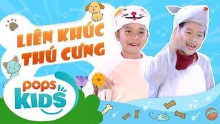 Mầm Chồi Lá Tập Liên Khúc Thú Cưng | Nhạc thiếu nhi hay cho bé | Vietnamese Kids Song