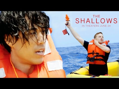 Thumbnail: The Try Guys Try Not To Die At Sea // Sponsored by The Shallows