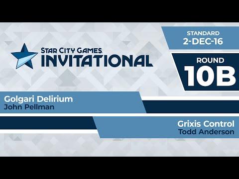 SCGINVI: Round 10b - John Pellman Vs Todd Anderson | Standard