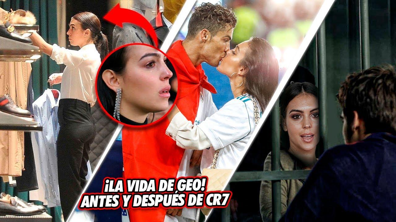 La DURA VIDA de Georgina Rodríguez ANTES de ENAMORARSE de CR7