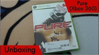 Unboxing (PL) - Pure (2008 - Xbox 360)