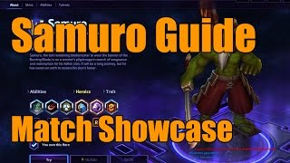 Heroes of the Storm - Samuro Guide - Match Showcase