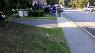 Drug Raid At 248 Forest Ave.