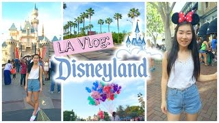 la vlog day 1 disneyland