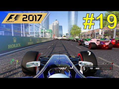 F1 2017 - Giovinazzi Career Mode #19: Azerbaijan Grand Prix - 50% Race