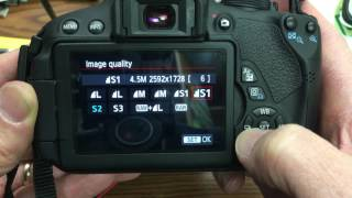 How to set image quality on your Canon dSLR