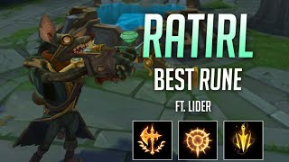 Finding out what is the best rune for Twitch ft. LIDER