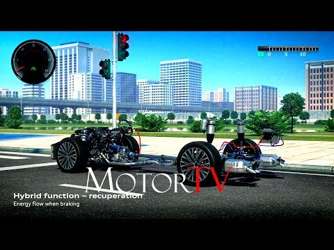 TECHNOLOGY : NEXT GEN 2018 AUDI A8 Mild Hybrid Electric Vehicle (MHEV) - Animation