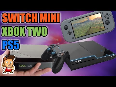 Новые консоли: PlayStation 5, Xbox Two, Nintendo Switch mini