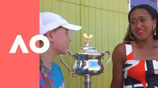 Exclusive interview with Grand Slam champion & Chloe ANZ Tennis Hot Shot | Australian Open 2019