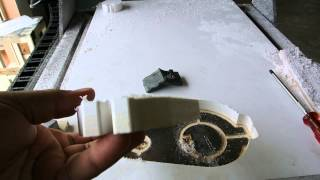 CNC ตัดแผ่นพลาสวูด อัตโนมัติ
