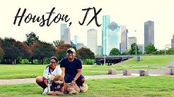 The best view of the Houston, TX skyline| Buffalo Bayou Park| Adventures with Coffeedoodle!