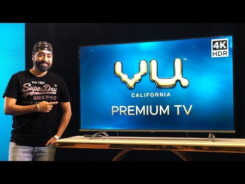 VU 4K Premium 55 Inch Android TV - IS IT WORTH?  REVIEW By Tech SIngh