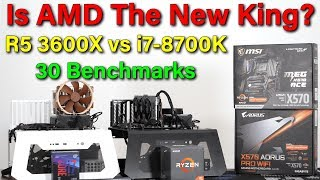 Ryzen 5 3600X vs i7-8700K — 30 Benchmarks — A New King?