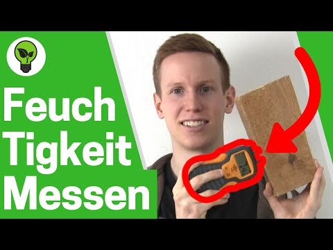 Turbo Feuchtigkeit messen Wand & Holz ✅TOP ANLEITUNG ZN24