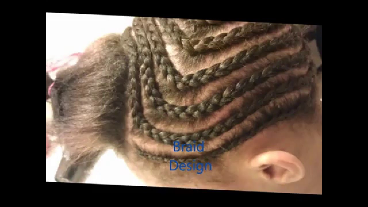 Middle Part Sew In Braid Pattern Interesting Ideas