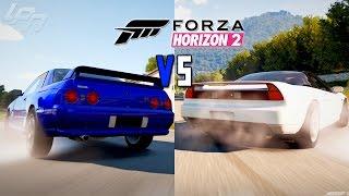 FORZA HORIZON 2 - NISSAN VS HONDA (Xbox One) / Lets Play Forza Horizon 2