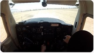 Cessna Plane Emergency Landing | Flight Gone Wrong