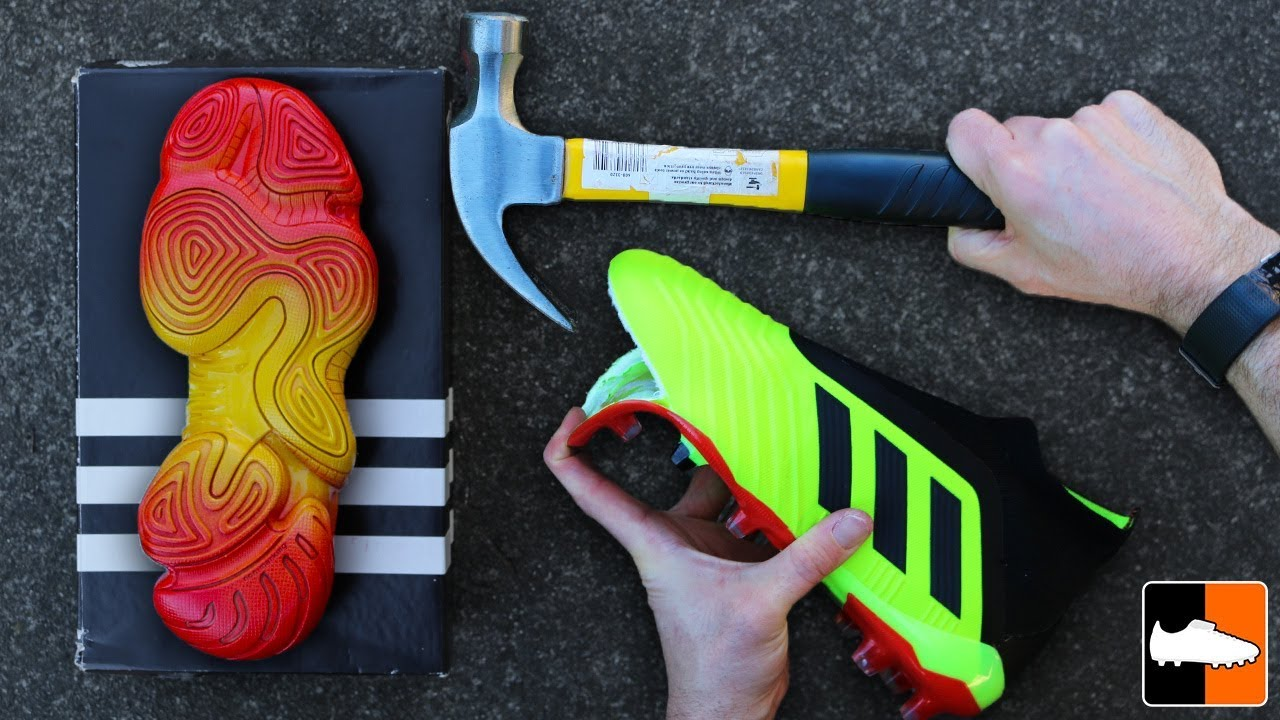 How To Make Yeezy Predator!! Amazing Concept adidas Sole Swap!