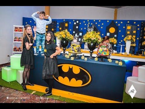 6to cumpleaños Santiago   Lego Batman Party