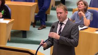 Martin Bosma PVV sloopt D66