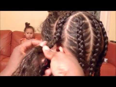Cool And Cute Braids Cornrows Hairstyles Kids Lynn Afia