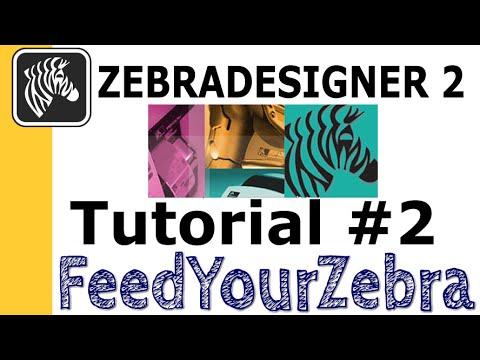 ZebraDesigner tutorial #2 - Creating a label