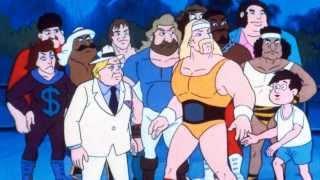 Hulk hogan's Rock 'N' Güreş Karikatür Slayt Gösterisi