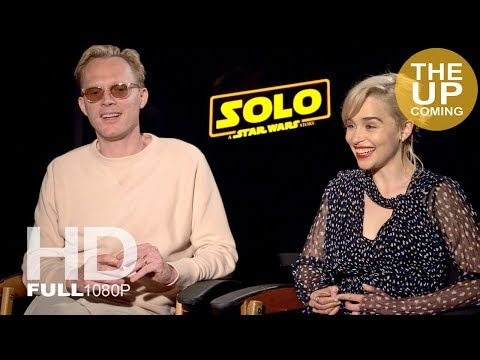 Paul Bettany and Emilia Clarke ultimate Solo: A Star Wars Story interview