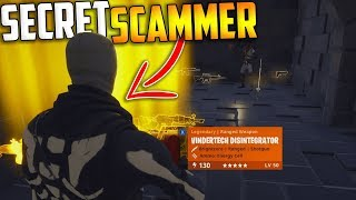 THE SECRET SCAMMER #2 Poor Scammer Gets Scammed In Fortnite Save The World