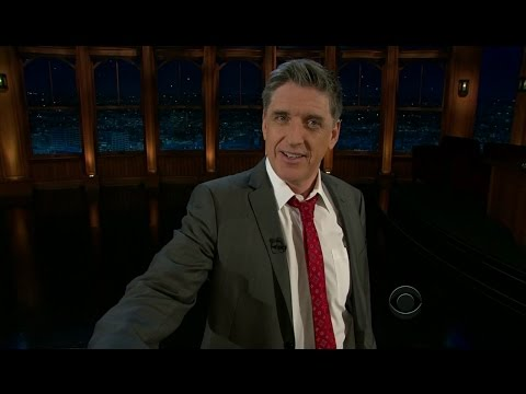 Late Late Show with Craig Ferguson 1/17/2012 Colin Firth, Lynette Rice