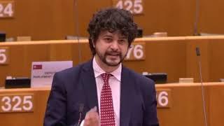 """Intervento in Plenaria del capo delegazione PD Brando Benifei su """"Legislazione di emergenza in Ungheria e suo impatto sullo Stato di diritto e i diritti fondamentali""""."""