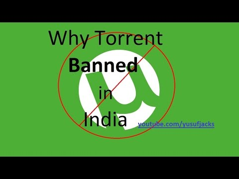 why torrent banned in india