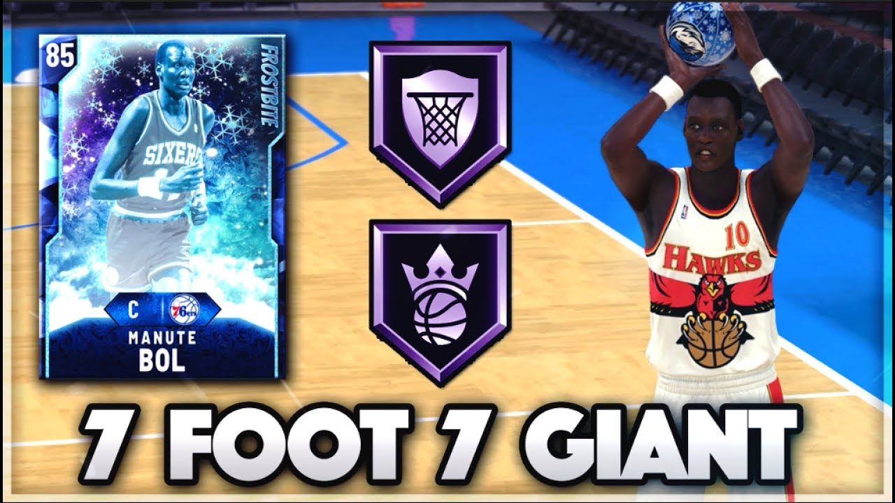 THIS 7 FOOT 7 GIANT CAN SHOOT 3 POINTERS!!