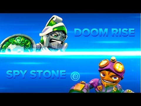 Skylanders Swap Force PVP - Doom Rise VS Spy Stone