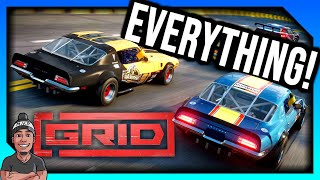 Everything We Know On GRID 2019! *Xbox One PS4 & PC!*