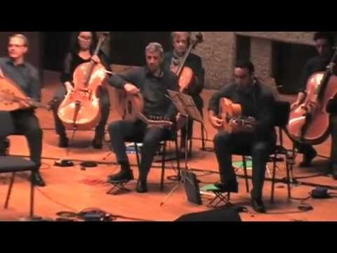 Mor Karbasi sings La Galana with Andalucian orchestra